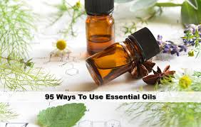 95 ways to use essential oils first