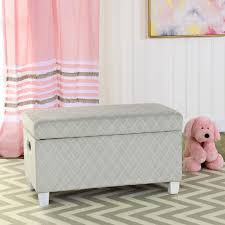 Homepop Kids Upholstered Storage Bench Hayneedle
