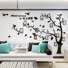 Kitchen Wall Decals Tree Self Adhesive Personalised Home Decor Acrylic