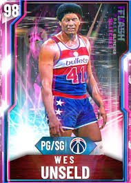 Wes Unseld MyTeam Player Page   2KDB