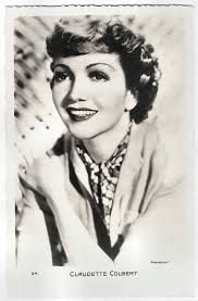Claudette Colbert | French postcard by Editions Chantal, Rue… | Flickr