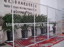 Temporary Chain Link Fence Panels 8ft 12ft Diamond Mobile Fencing Portable Chain Wire Panel Fencing Removable Fence Products China Products Exhibition Reviews Hisupplier Com