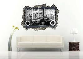 1920s Hot Rod Car 3d Wall Decal Removable Vinyl Sticker Mural Wall Art Decor Ebay