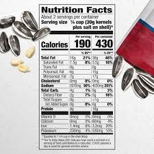 reduced sodium jumbo sunflower seeds