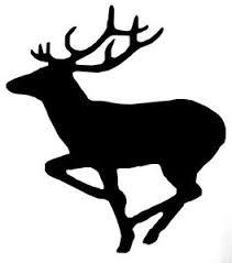 Running Elk Decal Window Sticker Car Rv Quad Truck Hunting Outdoor Vinyl Decal Ebay