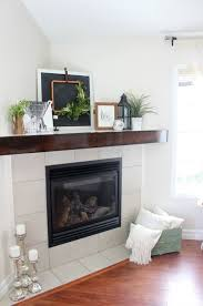 how to make your own diy wooden mantel