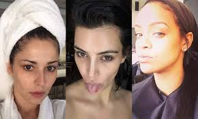 the best no makeup selfies from