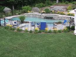 Pool Landscaping Pool Landscaping Fence