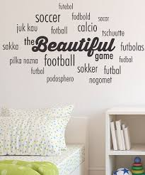 Wall Quotes By Belvedere Designs Belvedere Designs Black Beautiful Game Cloud Wall Quote Best Price And Reviews Zulily