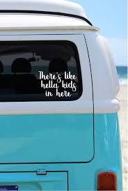 Hella Kids On Board Car Decal Car Sticker Mom Van Decal Mom Etsy Car Decals Vinyl Mom Car Car Decals