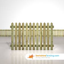 Pointed 4ft Picket Fence Panels X 6ft In Natural 4ft Fence Panels 4ft Panels