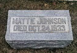 Mattie Johnson (1863-1933) - Find A Grave Memorial