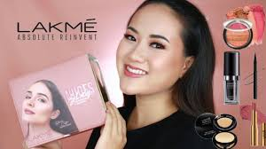 lakme one brand makeup tutorial