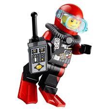 $10.95 AUD - Lego Minifig Deep Sea Diver Remote Control Walkie ...