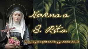 Novena a S. Rita da Cascia - da pregare per 9 gg consecutivi - YouTube