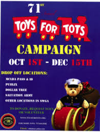 71st toys for tots caign albany