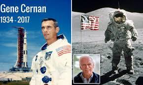 Gene Cernan, last man to walk on the moon, dies aged 82