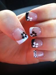 55 gorgeous french tip nail designs for