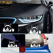 Funny Grumpy Cat For Jdm Auto Car Bumper Window Vinyl Decal Sticker Decals New