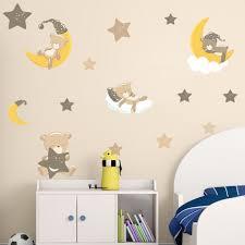 Wandtattoos Wandbilder Time For Bed Sticker Kids Art Bedroom Nursery Baby Paddington Bear Wall Decal Pgm Com Pe