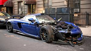 Gembella Mirage GT wrecked in NYC - YouTube