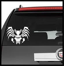Amazon Com A Design World Decals For Cars Marvel Spider Man Villian Venom Tribal Vinyl Decal Truck Car Laptop Wall Sticker Home Kitchen