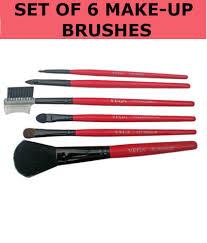 vega make up brush set of 6 mbs 06