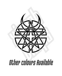 Disturbed Vinyl Sticker Decal Cd Evolution Logo Car Window Optional Ebay