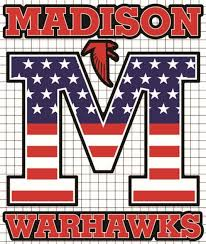Madison Warhawks Vinyl Decal Stars Stripes Edition The Dress Code