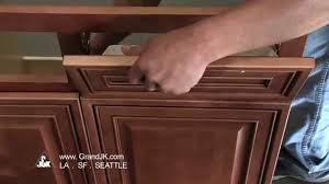 tilt out tray installation instruction