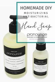 diy antibacterial soap ounce