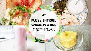 my pcos thyroid weight loss meal what