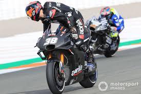 Bradley Smith, Aprilia Racing Team Gresini at Valencia November ...