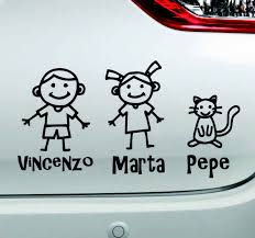 People With Names Baby On Board Sticker Tenstickers