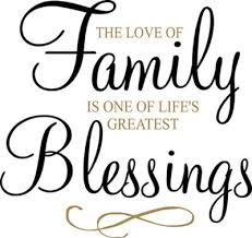 family blessings wall decal family poems blessed quotes family