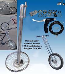 chopper bicycle front end disc brake kit