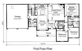 house plan 92616 with 1593 sq ft