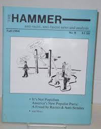 The Hammer; no. 8, Fall 1984 Anti-racist, anti-fascist news and ...