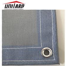 China 1500d 14 14 Mesh Tarp Sheet For Building Fence China Pvc Coated Tarpaulin And Pvc Laminated Tarpaulin Price
