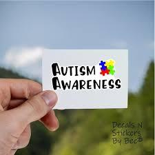 Autism Awareness Decal For Laptop Phone Cases Car Yeti Mug Etsy