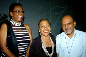 Go Jamaica Photo Gallery   Mico University College Awards   Winston Sill /  Freelance Photographer From left: Sonia Hamilton, Pat Ramsay and Father  Gregory Ramkissoon are in a happy mood ...