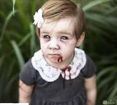 وجه مرعب للصغار و الكبار للهالوين و حفلات التنكر