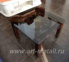 wrought iron coffee table iron clock