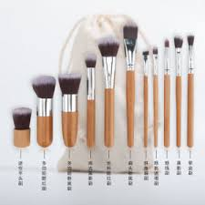 bamboo kabuki brushes makeup brush set