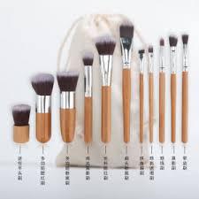 bamboo kabuki brushes makeup brush set
