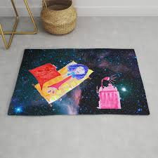The Universe Is Our Home Kids Room Up To The Space Cosmos Rug By Azima Society6
