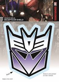 Transformers Decepticon Logo Full Color Stickerby Alter Ego Transformer Window Decals Tree Wall Decal Bible Verse Wall Decals