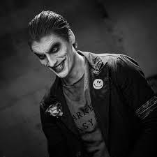 Bat in the Sun - Aaron Schoenke as the Joker Make up by... | Facebook