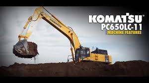 komatsu pc650lc 11 excavator walk