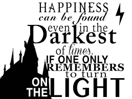 harry potter silhouette quotes